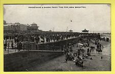 Cheshire - New Brighton, Promenade & Sands - Bon Marche Series Postcard