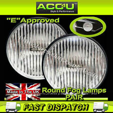 Ring 12v Car 4x4 Van Round Fog Halogen Spot Lamps Lights - Pair