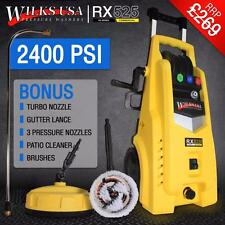 WILKS-USA High Pressure Washer 2400 PSI/165 BAR. POWERFUL & WITH ALL THE TOYS