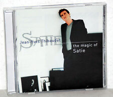 CD Erik Satie-The Magic of questa-Jean-Yves thibaude, pianoforte
