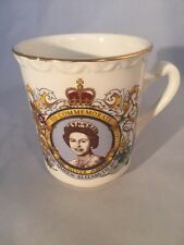 Silver Jubilee Queen Elizabeth Weatherby Falcon Ware Old Fellows Manchester Unit