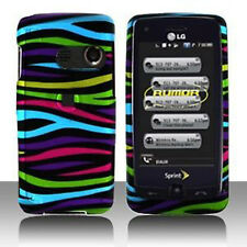 Colorful Zebra Hard Case Cover LG Banter Touch UN510