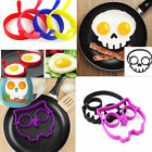 Breakfast Silicone Fried Egg Mold Pancake Egg Ring Shaper Funny Cooking Tool HS