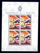 SAN MARINO - BF - 1965 - Aerei moderni - 500 lire