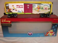 Lionel 6-82913 Disney Winnie the Pooh 50th Anniversary Box Car O-27 MIB New 2016