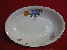 Platte Platte Kuchenteller Meissen Bunte Blume Teller Schale Bouquet 27 cm