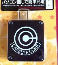 Rare! Dragon Ball Kai Character USB AC Adapter Capsule Corp. version