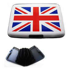 GB Credit Card Holder Union Jack Aluminium Business Cards Pocket Waterproof Case