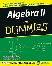 ALGEBRA II FOR DUMMIES Story Problems Formulas Fractions Equation Polynomial