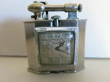 Vintage Triangle Lift Arm Watch Cigarette Lighter RARE