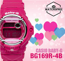 Casio Baby-G Alarm Ladies Sport Watch BG169R-4B