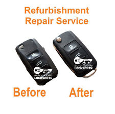 for VW Volkswagen Touran Tiguan Caddy T5 3 button remote key Repair Service