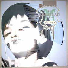 "Rare! Madonna The Immaculate Collection Die-Cut Cover 12""LP Vinyl Picture Disc"