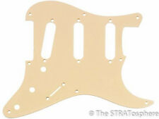 NEW '57 Style Stratocaster Cream PICKGUARD for Fender Strat Guitar 1 Ply 8 Hole