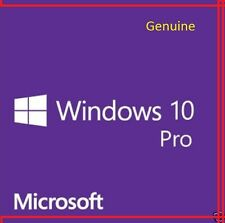 Windows 10 PRO Professional 64 & 32 Bit licenza completa di download o aggiornamento di casa