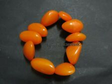 B25 Tibetan Yellow Amber color resin Fashion unisex Stretchable bangle Bracelet