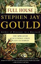 Full House : The Spread of Excellence Plato to Darwin by Stephen Jay Gould Book