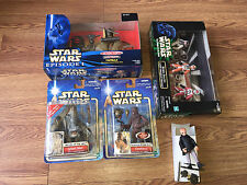 (5) Star Wars The Power Of The Force/Episode 1 Figurines & Playsets /Mail-in Pro