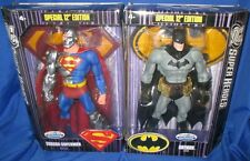 "DC BATMAN CYBORG SUPERMAN SUPER HEROES SPECIAL 12"" EDITION S3 SELECT MATTEL TRU"