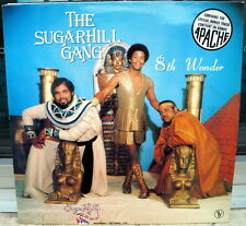 "The Sugarhill Gang ""8th Wonder"" RARE 1981 Hip Hop LP"
