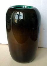 Vase marron atelier Copper-Glass - Yannick Hoeltzel - Maître verrier plasticien