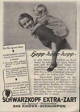 BERLIN, Werbung 1936, Hans SCHWARZKOPF EXTRA-ZART Kinder-Schaumpon
