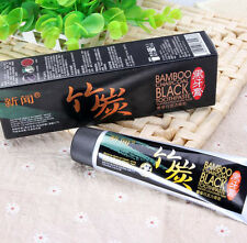 Bamboo charcoal black toothpaste teeth whitening remove stains insect-resistant