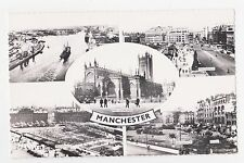 RPPC,Manchester,U.K.5 Views,Greater Manchester,c.1950s