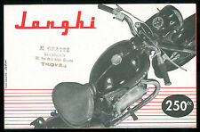 Brochure JONGHI 250 H 54 T- 125 E - 125 ACT type D Catalogue Prospectus Dépliant