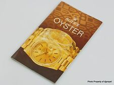 Rolex Collectible 1990's Rolex Oyster Catalog w/ 16700, Oysterquartz & More!!!