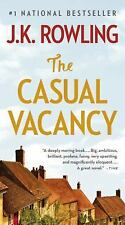 The Casual Vacancy by J. K. Rowling (2012, Hardcover / Hardcover, Large Type)