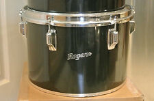 "EXPAND YOUR DRUM SET TODAY! VINTAGE 1970s Rogers USA 13"" BLACK CONCERT TOM #M675"