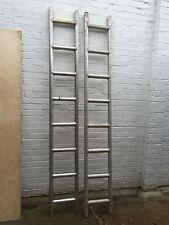 2 x 8  foot aluminium ladder beams