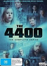 THE 4400 - THE COMPLETE COLLECTION - SERIES 1-4 (15 DVD SET) BRAND NEW! SEALED!
