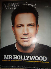 The Observer magazine BEN AFFLECK , MICHAEL JACKSON