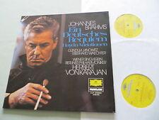 DG 2726 078 BRAHMS German Requiem/Haydn Variations Janowitz Karajan vinyl 2LP