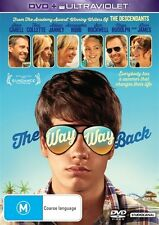 THE WAY WAY BACK - DVD + ULTRAVIOLET,  Brand New Not Sealed, Region: 4