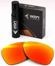 Polarized IKON Iridium Replacement Lenses For Oakley Monte Frio Fire Mirror