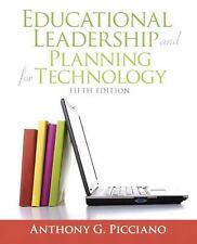 Educational Leadership and Planning Technology Picciano 9780137058228 (5th)