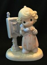 LORD PLEASE DON'T PUT ME ON HOLD, Precious Moments By ENESCO-  PM-982 No Box