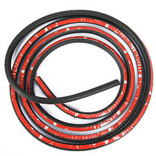 """Car Truck Door Small D-shape Rubber Seal Weather Strip OEM Hollow 160"""" 4M Sales"""