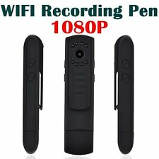 Pocket Mini DVR Night 1080p Infrared Wifi Camera Pen Meeting Recording Pen P2P