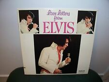 Love Letters From ELVIS ( Orange Label - USA Press.)