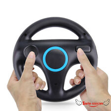 Kart Racing Game Steering Wheel Controller For Nintendo Wii Accessories Black