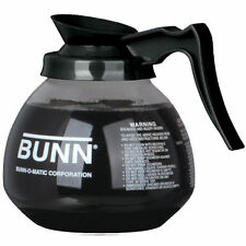 Coffee Pot Decanter BUNN 64oz glass COFFEE POT 42400.0103, Black