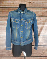 Lee Jeans 101 J Denim Men Jacket Size L, Genuine