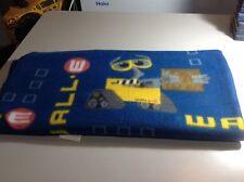 Disney Pixar Wall E Fleece Blanket Throw Blue Yellow Eva Twin Bedding Wall-E