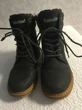 Timberland, Size 5/eu 38, Ladies, Navy, Lace Up Ankle Boots
