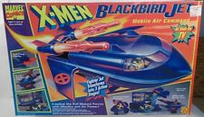 X-Men Blackbird Transforming Mobile Air Command Missile Firing Jet ToyBiz (MISB)