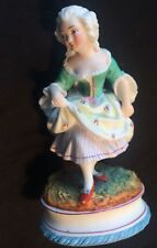 Victorian Bisque Porcelain Figurine Dresden Style, French Continental Perfect